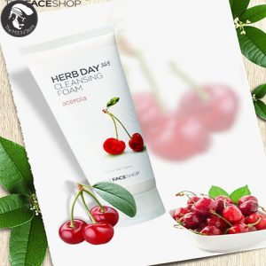 sua-rua-mat-Herb-Day-365-Cleansing-Foam-Acerola-Cherry01_the-men-store